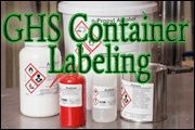 GHS Container Labeling
